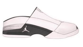 Air Jordan 17 Mule White Black 2002 Release Date
