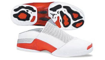 Air Jordan 17 Mule White Red 2002 Release Date