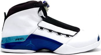 Air Jordan 17 White Blue 2002 Release Date