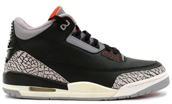 Air Jordan 3 Black Cement 2001 Release Date