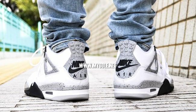 sneakernews en ligne style de mode Air Jordan 4 Ciment 2012 Vs 2016 Électeurs prix pas cher sneakernews bon marché Manchester rabais hTzry