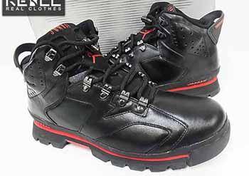 Air Jordan 6 Boot Black Red 2002 Release Date