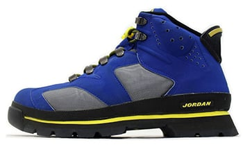 Air Jordan 6 Boot Blue Yellow 2002 Release Date
