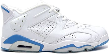 Air Jordan 6 Low White Blue 2002 Release Date