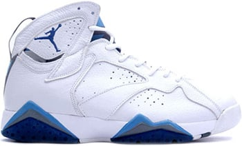 Air Jordan 7 French Blue 2002 Release Date