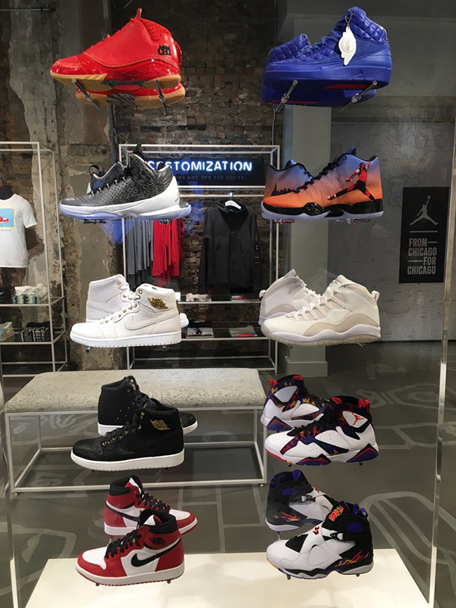 Air Jordan Restock Chicago Station 23