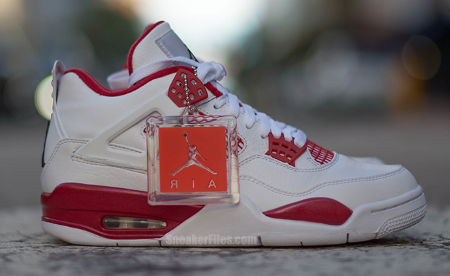 Alternate 89 Air Jordan 4 White Red