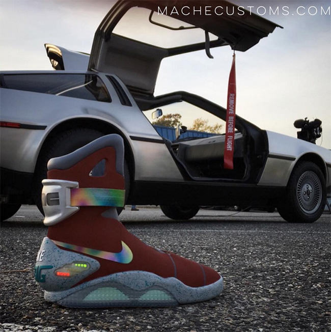 Anthony Davis Custom Nike Mag Mache
