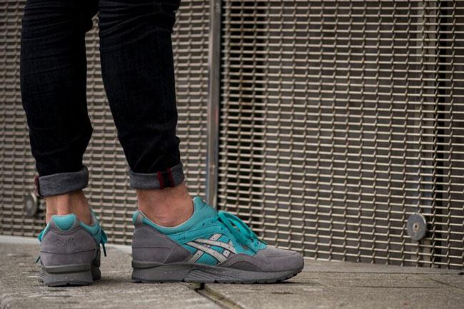 Asics Gel Lyte V Jack Frost On Feet