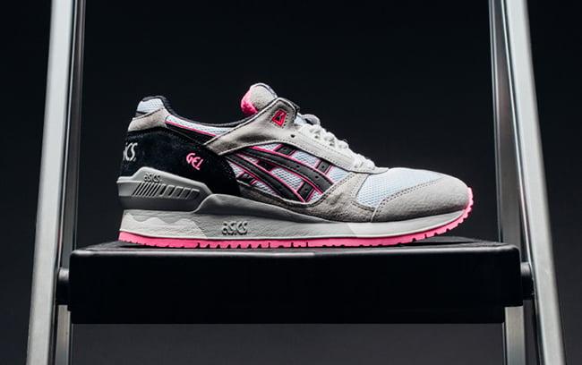 Asics Gel Respector White Black Pink