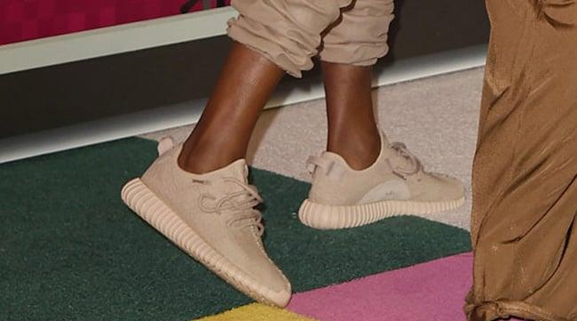 Beige adidas Yeezy 350 Boost