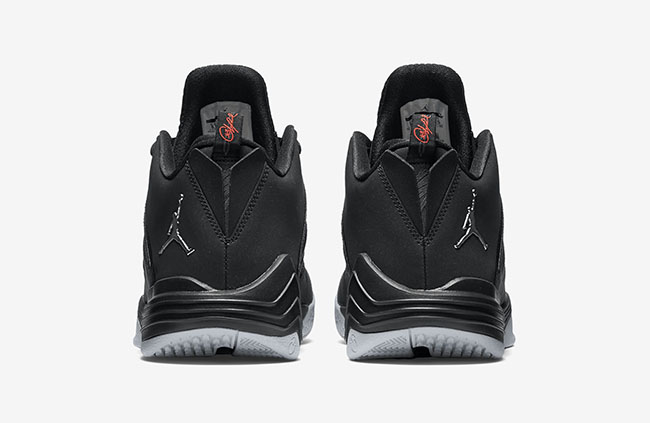 Black Silver Jordan CP3 9