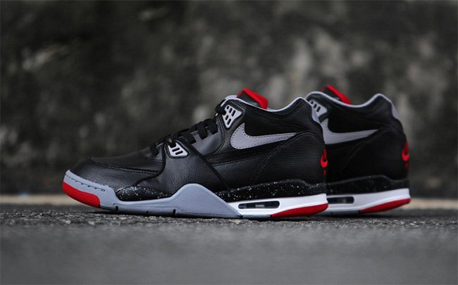 New Arrival 2015 Nike Air Flight 89 Black Cement