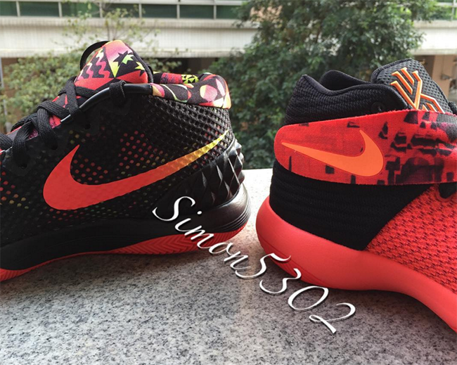 Bright Crimson Nike Kyrie 2