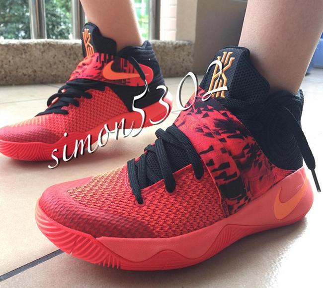 Bright Crimson Nike Kyrie 2