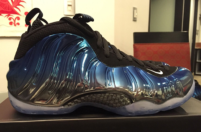 Buy Nike Air Foamposite One Blue Mirror