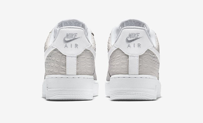 Nike Air Force 1 Faible Crocodile Blanc yCCQk