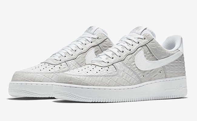Nike Air Force 1 Bajo Croc Blanco hKWBRM