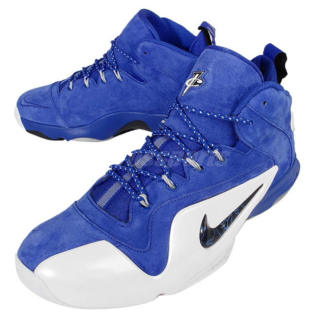 bb0b52a260946 Nike Penny 6 Royal Blue Suede Release Date