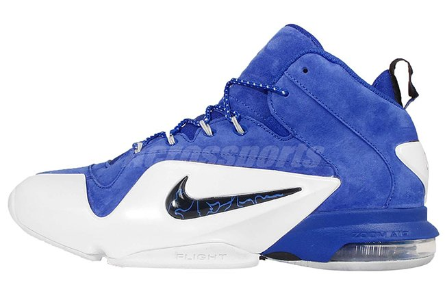 reputable site 1451d 1b720 Buy Nike Air Penny 6 Royal Blue Suede