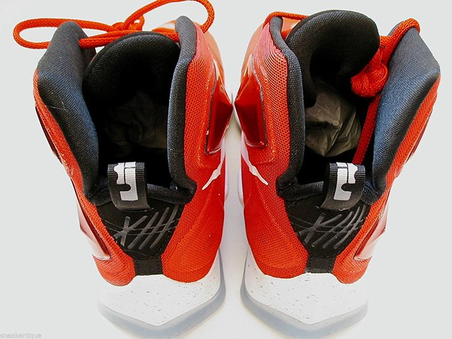 7d46a58077ef Nike LeBron 13 Away Cavs Red On Court