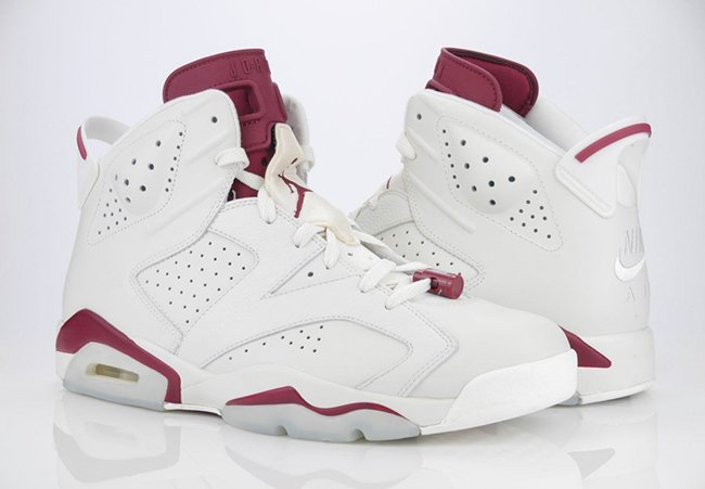 Confirmed Air Jordan 6 Maroon Release