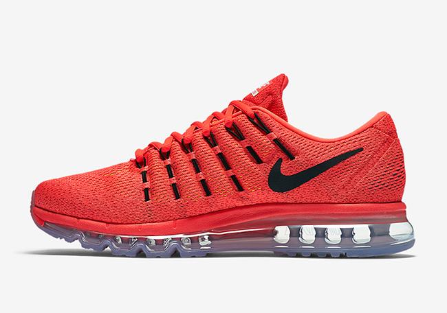 Crimson Nike Air Max 2016