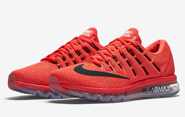 Nike Air Max 2016 Rood