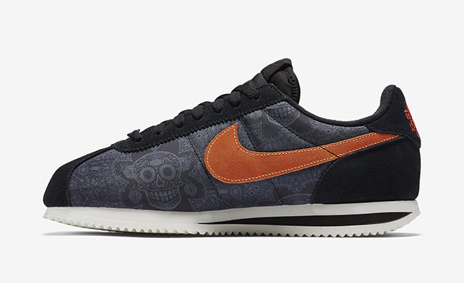 Day of the Dead Nike Cortez
