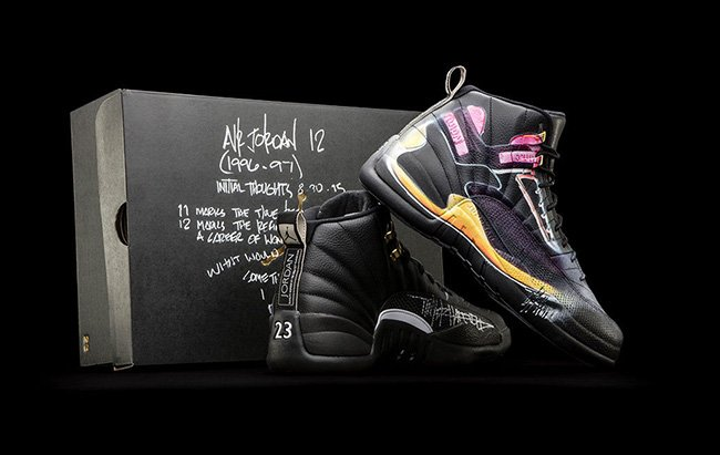 839b080c42b Air Jordan 12 Doernbecher Auction