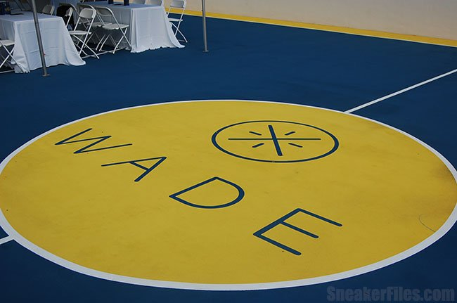 Dwyane Wade Private Basketball Court