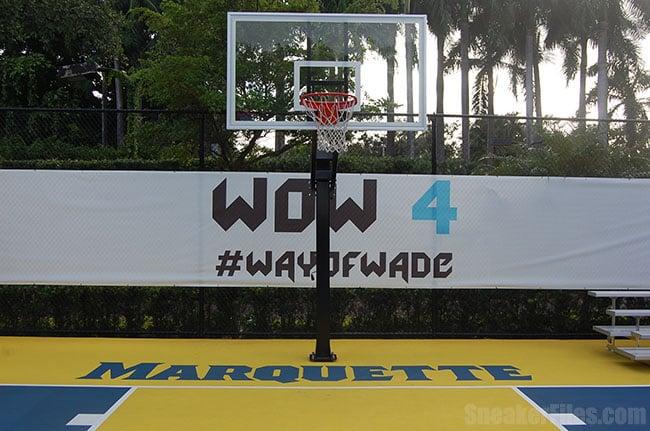 Dwyane wade li ning way of wade 4 sneakerfiles for Personal basketball court