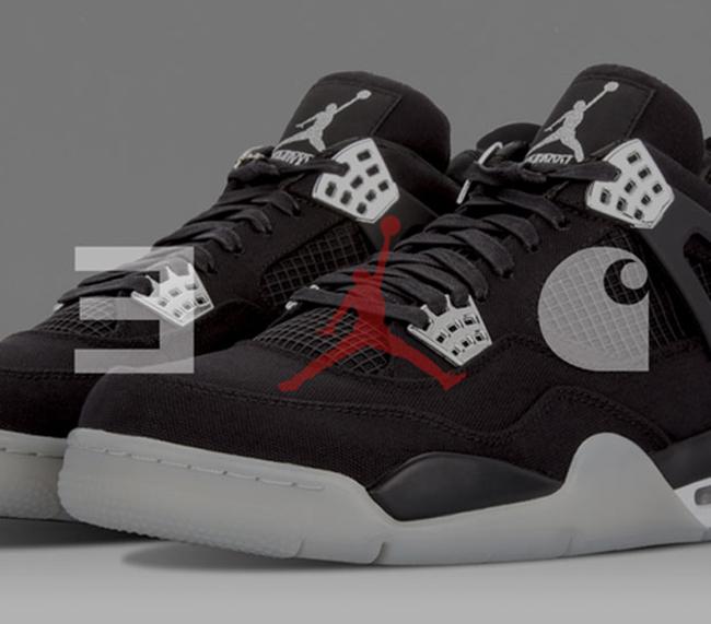 Eminem Air Jordan 4 Charhartt
