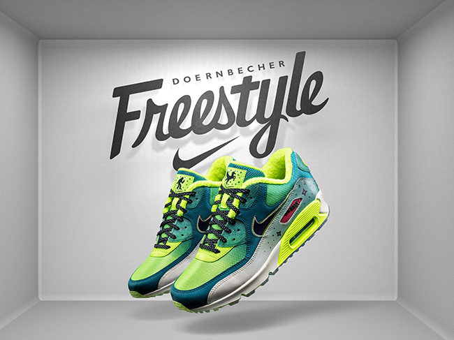 Emory Maughan Nike Air Max 90 Doernbecher