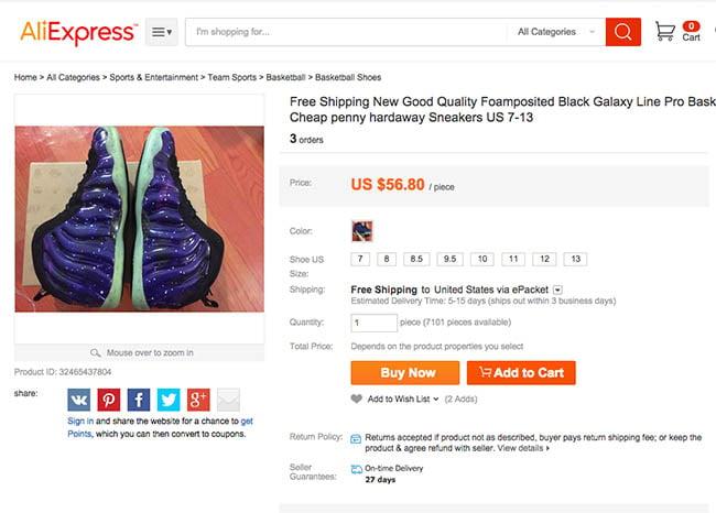 Fake Sneaker Prices