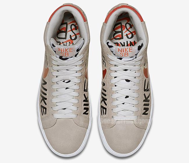 Geoff McFetridge Nike SB Blazer Premium