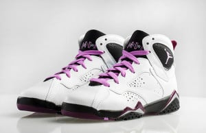 Girls Jordan 7 Retro Fuchsia Glow