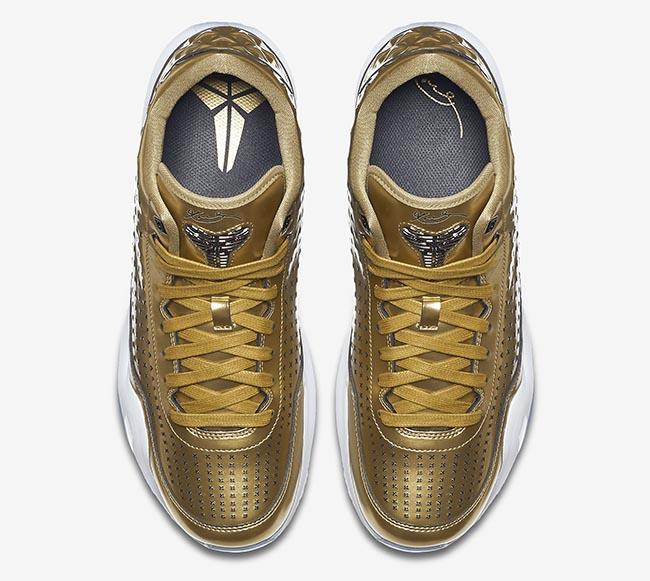 Gold Nike Kobe 10 EXT Mid