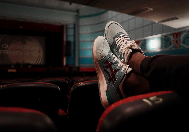 Highs and Lows Asics Gel Lyte III Silverscreen