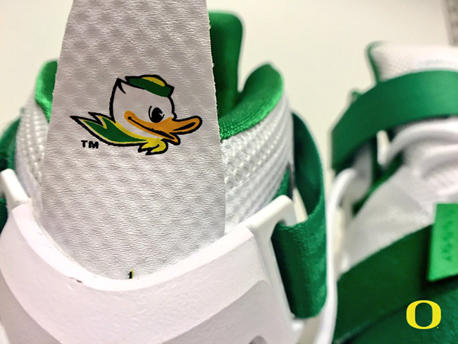 Home Nike LeBron 9 Oregon Ducks
