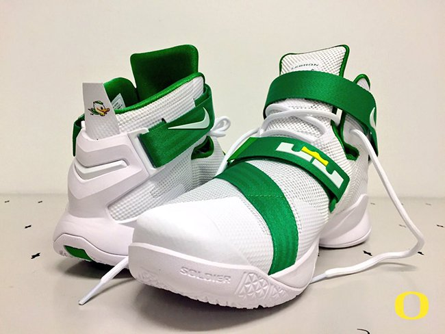 9545b8d64cd8 Nike LeBron Soldier 9 Oregon Ducks Home on sale - s132716079 ...