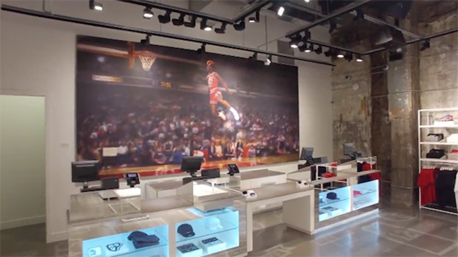 Inside Jordan Brand Station 23 Chicago