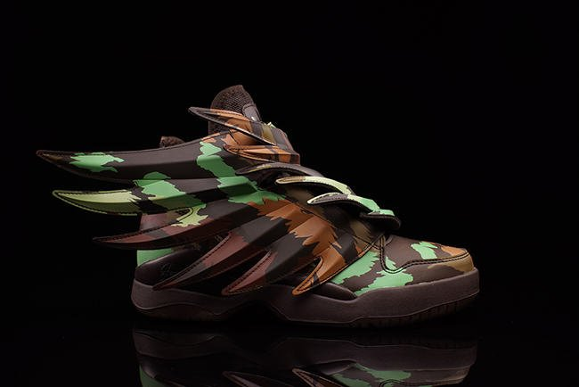 Jeremy Scott adidas Wings 3.0 Camo