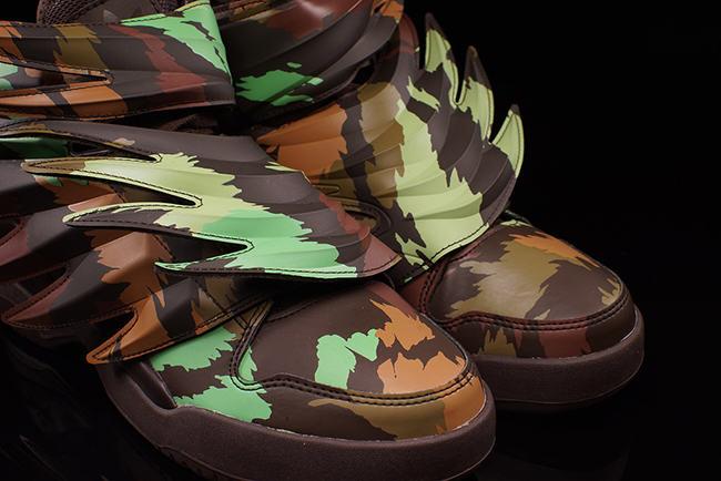 Jeremy Scott adidas Wings 3.0 Camo