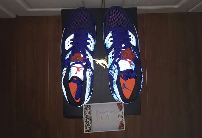 Jordan Air Spike 40 Knicks Blue
