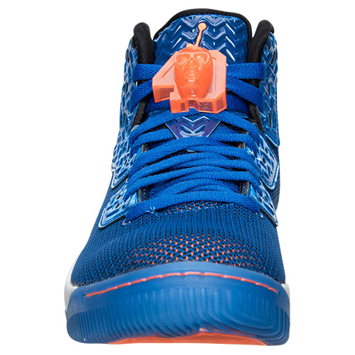 Knicks Blue Jordan Air Spike 40