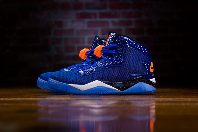 Jordan Air Spike 40 Royal Blue Knicks
