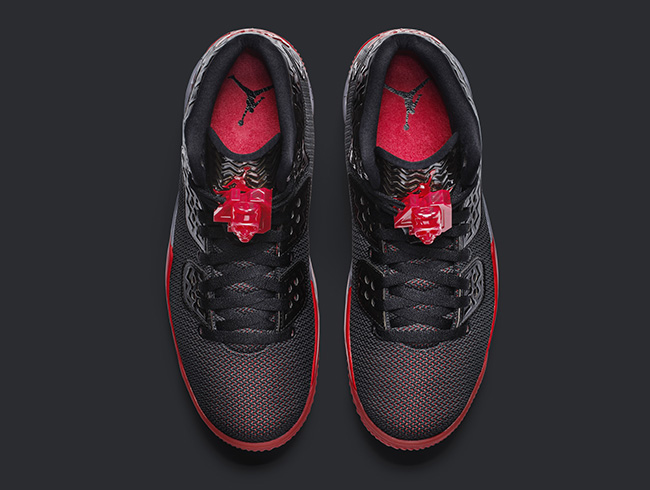 Jordan Air Spike Forty Black Fire Red