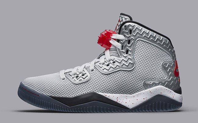 Jordan Air Spike Forty White Fire Red