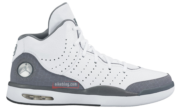 Jordan Flight Tradition White Grey